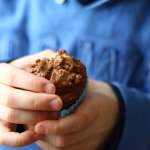 Tasting Good Naturally : Muffin au chocolat et pétites de cacao #vegan