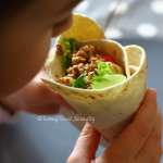 Tasting Good Naturally : Tortillas aux Noix et Crudités (wrap) #vegan