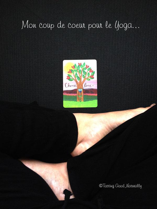 Tasting Good Naturally : Le yoga et moi. Venez découvrir mon Coup de coeur Yoga. Je vous parle de ma pratique, de livres que j'aime, des chaînes youtube et personnes que je suis. Cliquez ici pour en savoir plus :)