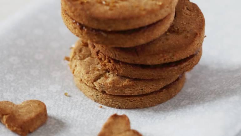 Biscuits fourrés à la confiture sans gluten #vegan