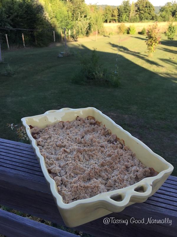 Tasting Good Naturally : Découvrez une Compote de pommes, rhubarbe et bananes végétalienne #vegan qui sera parfait pour le dessert ou pour utiliser sur un fond de tarte où encore pour agrémenter un crumble !