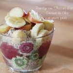 Tasting Good Naturally : Porridge aux flocons d'avoine, fruits frais et graines de chia #vegan