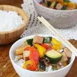 Tofu à la sauce aigre douce #vegan