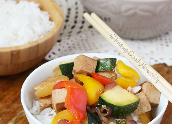 Tasting Good Naturally : Tofu à la sauce aigre douce #vegan