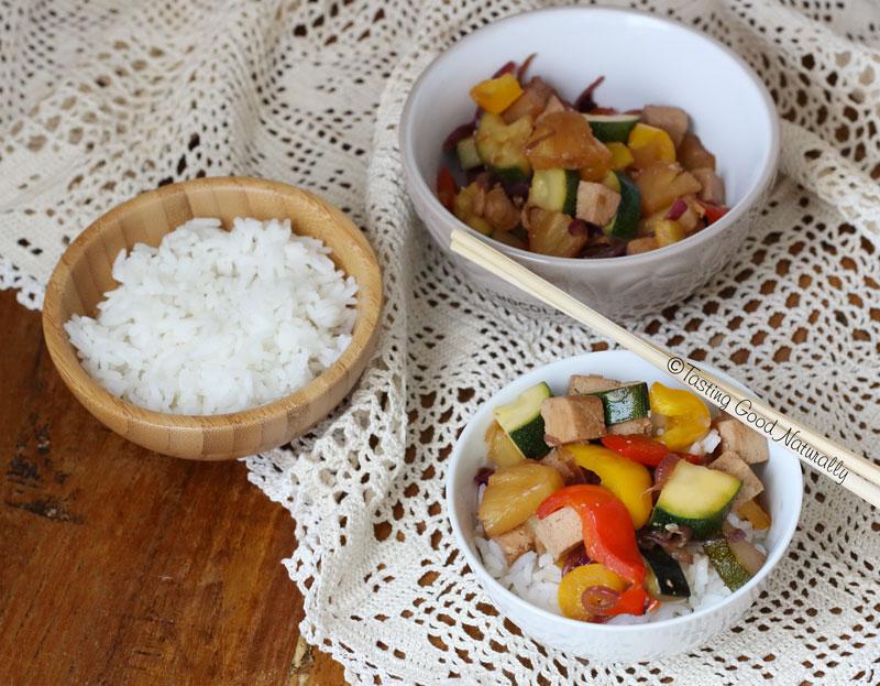 Tasting Good Naturally : On se régale avec ce Tofu à la sauce aigre douce #vegan