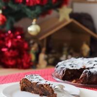 Tasting Good Naturally : Christmas Cake (Gâteau de Noël végétalien) vegan
