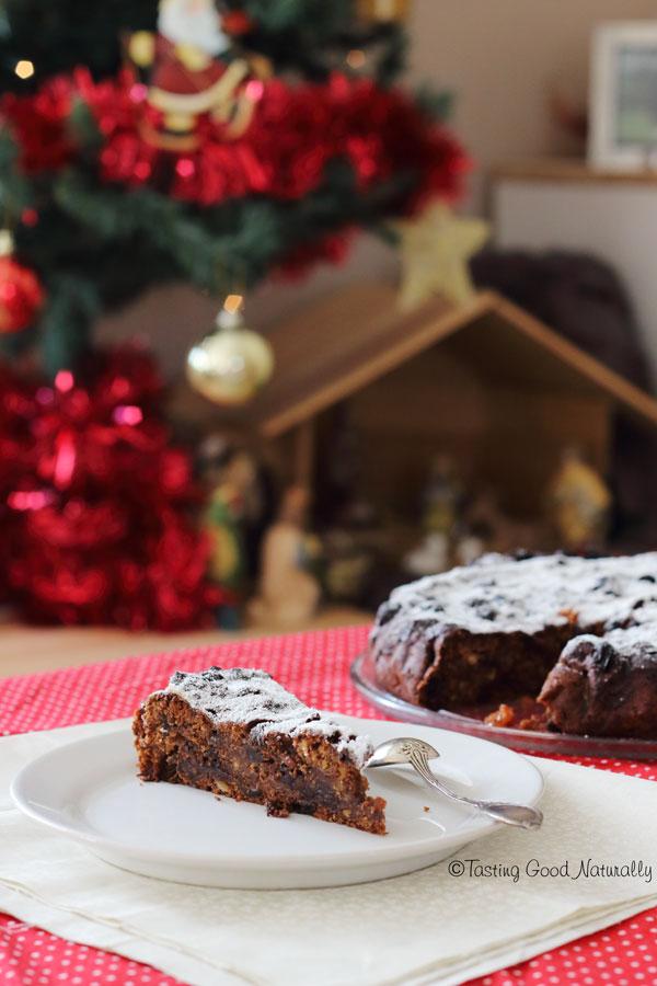 Tasting Good Naturally : Là où mon coeur bas plus fort, Il est de tradition de préparer un Christmas Cake (gâteau de Noël) pour l'occasion. Aujourd'hui, c'est une recette #vegan super simple que je vous propose.