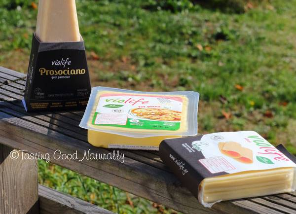 Tasting Good Naturally : Test de Fromages Violife #vegan
