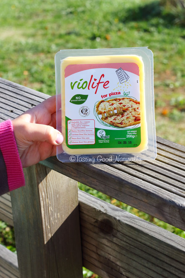 Tasting Good Naturally : Violife Fromage pour pizza #vegan