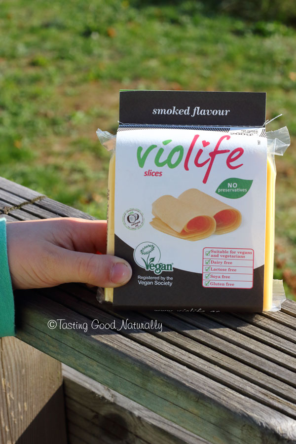Tasting Good Naturally : Violife fromage saveur fumé #vegan