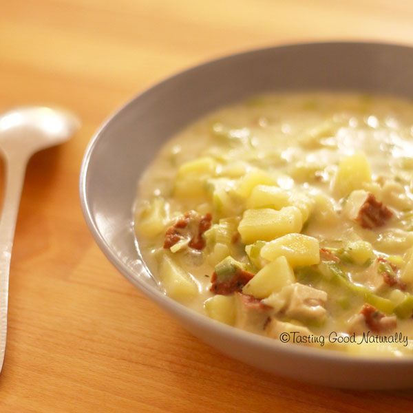 Tasting Good Naturally : Soupe écossaise Cullen Skink #vegan