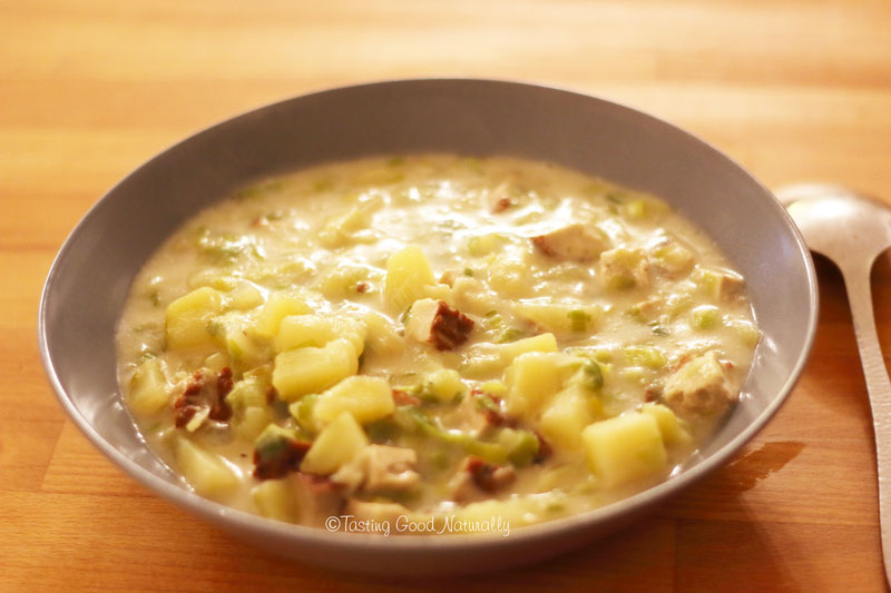 Tasting Good Naturally : Soupe écossaise Cullen Skink #vegan
