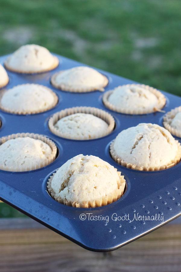 Tasting Good Naturally : Muffins au zeste de citron et graines de sésame vegan