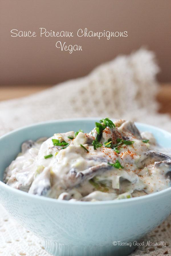 Tasting Good Naturally : Tasting Good Naturally : Une petitesauce poireaux champignons #veganpour les pâtes, ça vous dit ? Il faut dire que c'est notre sauce du moment. LA sauce que tout le monde aime...