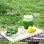 Tasting Good Naturally : Jus de fanes de radis, kale et citron #vegan