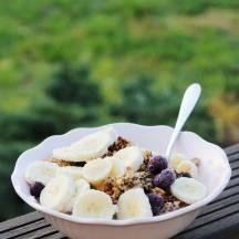 Tasting Good Naturally : Granola à l'okara #vegan