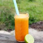Tasting Good Naturally : Jus de carottes, orange, citron vert et gingembre #vegan