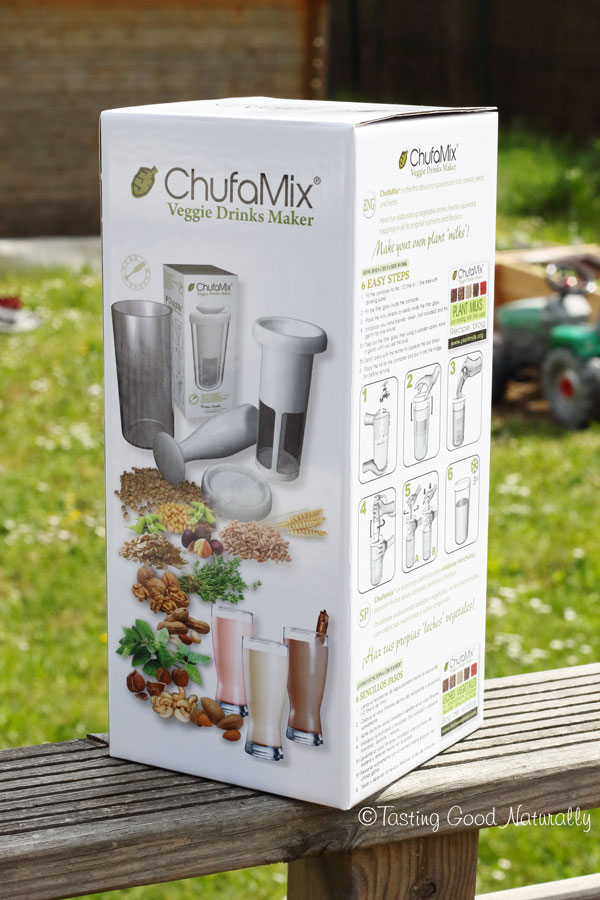 Tasting Good Naturally : Chufamix pour faire ses laits végétaux #vegan