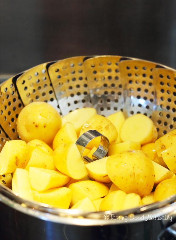 Tasting Good Naturally : Pommes de terre aux épices colombo #vegan