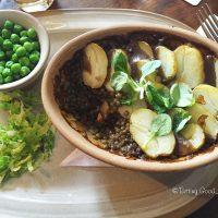 Tasting Good Naturally : Manger Vegan en Angleterre (en dehors de Londres) - Lentilles, légumes et pommes de terre #vegan