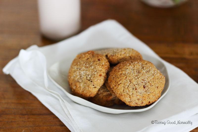 Tasting Good Naturally : Cookies à l'amande #vegan