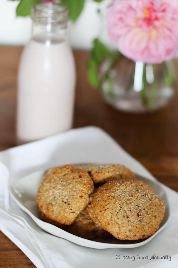 Tasting Good Naturally : Découvrez de délicieux Cookies vegan à l'amande