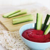 Tasting Good Naturally : Dip à la betterave et haricots blancs #vegan