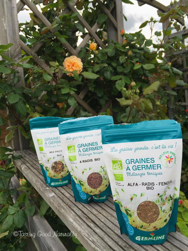 Tasting Good Naturally : Comment utiliser les graines germées ? J'aime particulièrement celles-ci...