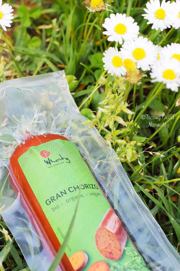 Tasting Good Naturally : J'ai testé le Gran chorizo wheaty #vegan