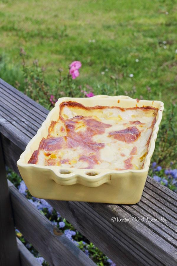 """Tasting Good Naturally : Dans le livre """"A la française, la tradition façon vegan"""", il y a la recette du Gratin dauphinois #vegan"""