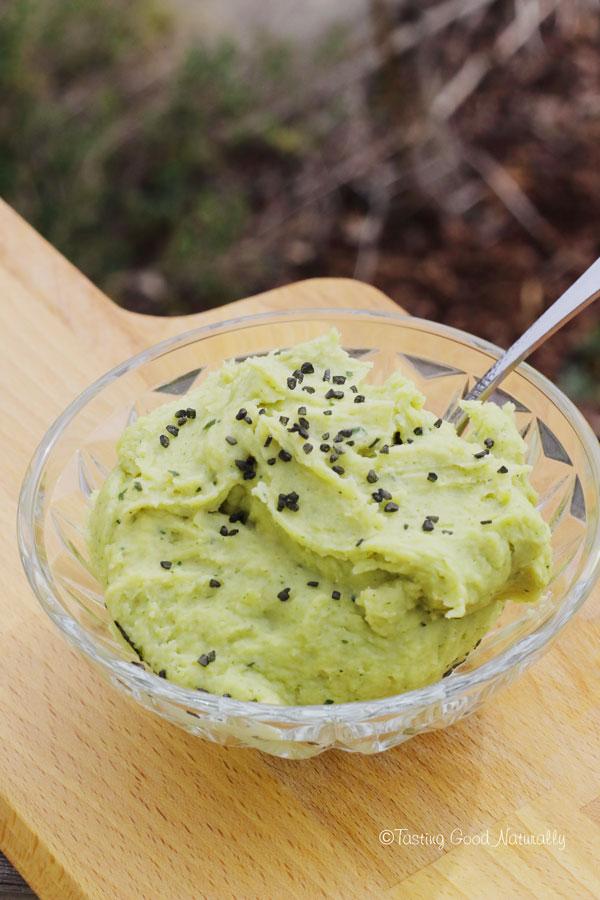 Tasting Good Naturally : Et si pour changer de l'houmous et autre guacamole, on se préparait une Tartinade de pois cassés aux herbes aromatiques #vegan
