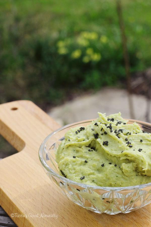 Tasting Good Naturally : Tartinade végane de pois cassés aux herbes aromatiques