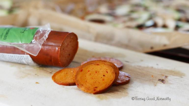 Test produit : Gran Chorizo Wheaty #vegan