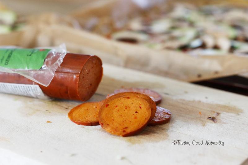 Tasting Good Naturally : Sur le blog, on teste le produit : Gran Chorizo de Wheaty #vegan