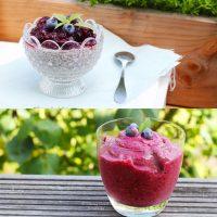 Tasting Good Naturally : On parle de Chia pudding aux fruits rouges #vegan en deux versions sur le blog... vous venez ?
