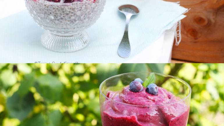 Chia Pudding aux Fruits Rouges #vegan