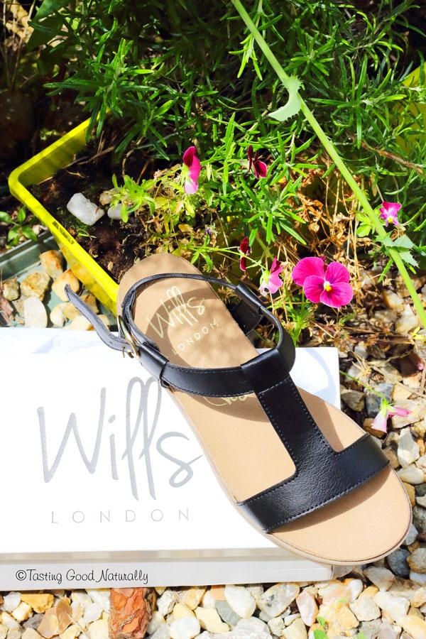 Tasting Good Naturally : Venez découvrir mon gros coup de coeur de l'été pour les sandales footbed de Wills London (Vegan Shoes - Chaussures véganes).