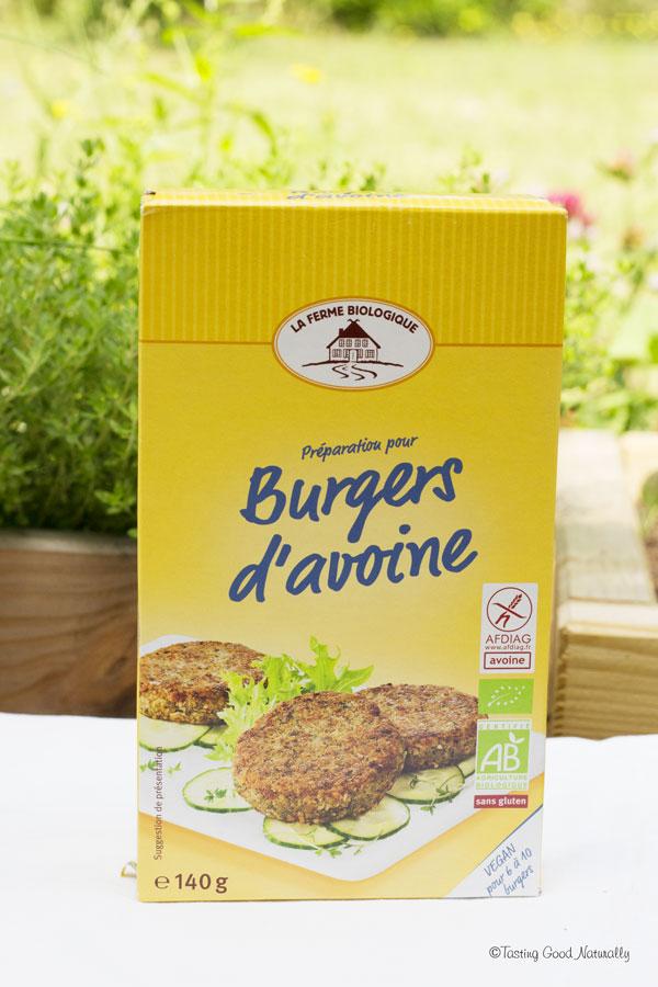 Tasting Good Naturally : Aujourd'hui, j'ai testé la box délices «The Green Family». Je vous dis tout sur cette box vegan et je vous donne mon avis sur les différents produits testés (ici les burgers d'avoine).