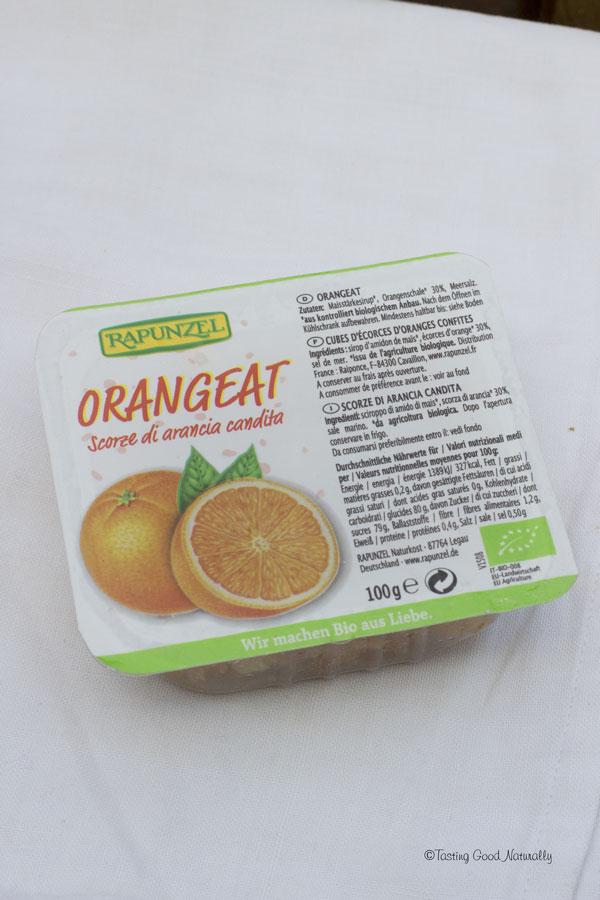 Tasting Good Naturally : Aujourd'hui, j'ai testé la box délices «The Green Family». Je vous dis tout sur cette box vegan et je vous donne mon avis sur les différents produits testés (ici les cubes d'oranges confites).
