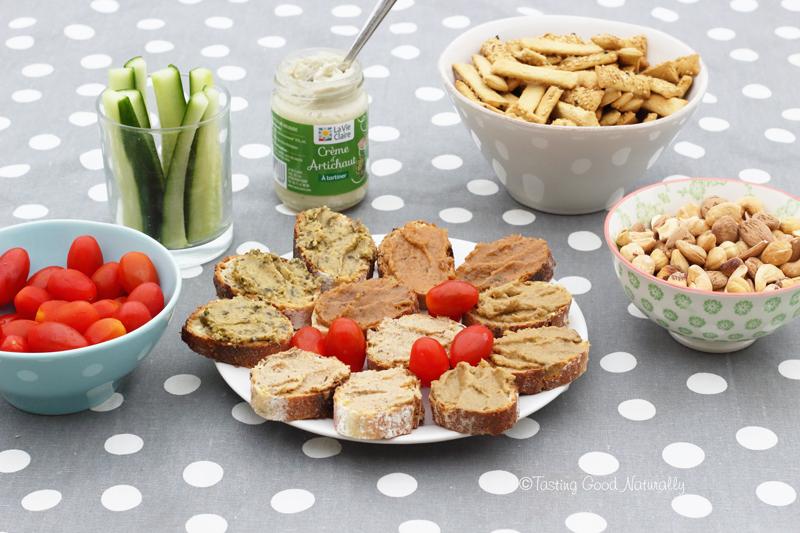 Tasting Good Naturally : Aujourd'hui, on a testé un apéro végé avec la Vie Claire et j'ai eu envie de partager tout ça avec vous ! Vous venez ?