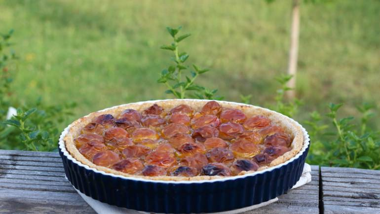 Tasting Good Naturally : C'est la saison des prunes ! Et si on en profitait pour faire une délicieuse tarte aux mirabelles ? C'est par ici !