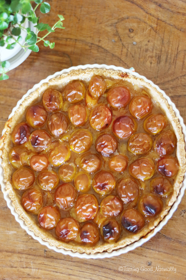 tarte aux mirabelles vegan tasting good naturally recettes bio. Black Bedroom Furniture Sets. Home Design Ideas
