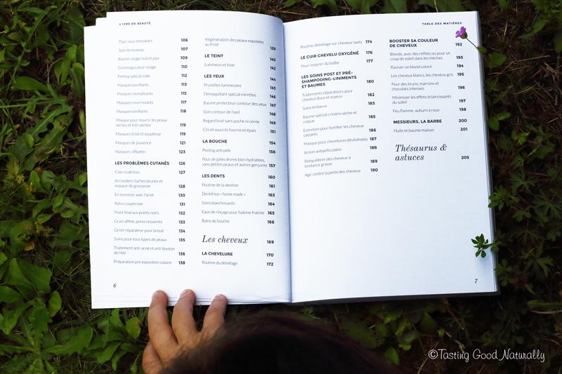 Tasting Good Naturally : Vous voulez connaître des recettes de beauté toutes simples ? Je vous amène découvrir le l'ivre de beauté de Céline Naissant aux Editions l'Age d'Homme.