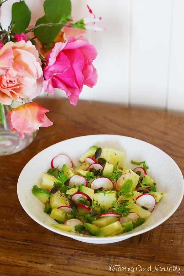 Tasting Good Naturally : Salade printanière aux pommes de terre