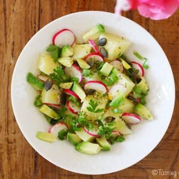 Salade printanière aux pommes de terre