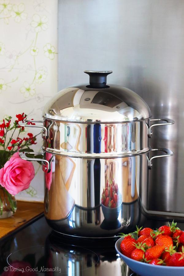 Tasting Good Naturally : Cuisson à la vapeur douce et Naturopathie