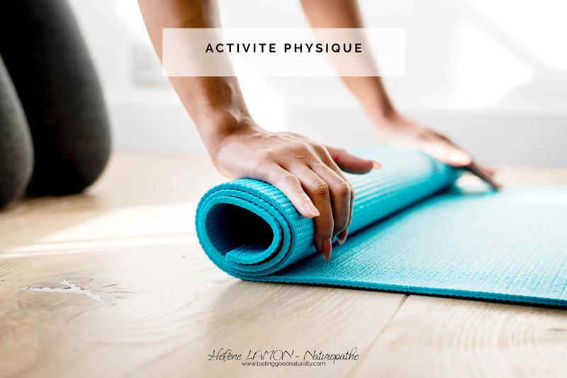 Tasting Good Naturally : Alors pour nos 31 choses pour bien commencer, nous allons parler d'activité physique et plus particulièrement comment se remettre au sport. On y va ?