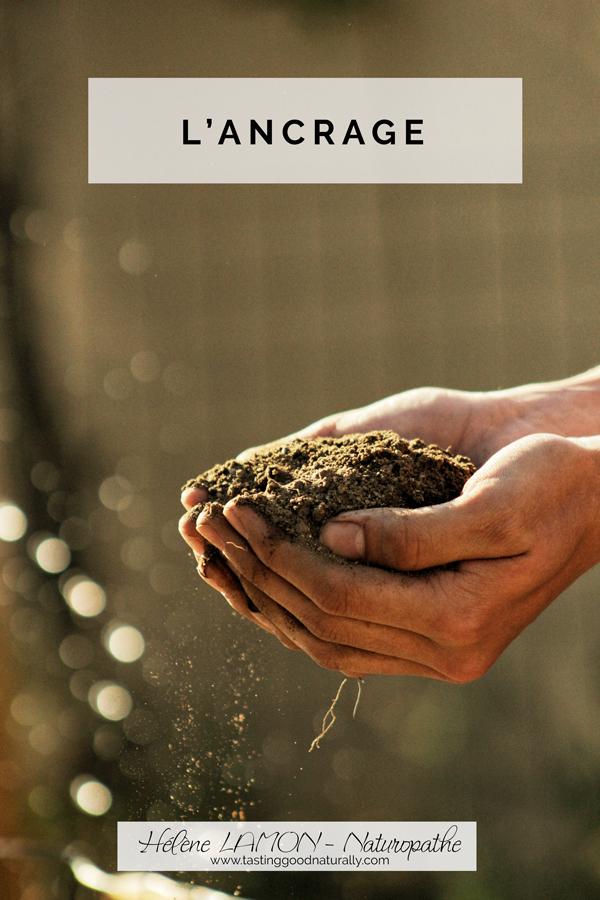 Tasting Good Naturally : Dans les 31 choses pour bien commencer l'année, en Naturopathie, aujourd'hui, on va parler de l'ancrage et de son importance.