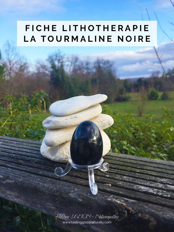 Tasting Good Naturally : Aujourd'hui, dans les 31 choses pour bien commencer l'année en Naturopathie, je souhaite vous faire découvrir une nouvelle fiche Lithothérapie : Tourmaline noire.