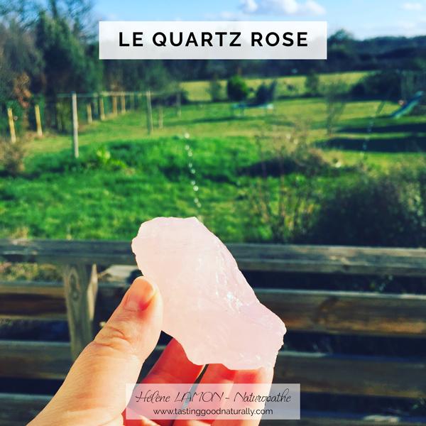 Tasting Good Naturally : Aujourd'hui, j'avais envie de vous parler de lithothérapie. Venez découvrir la fiche lithérapie : le Quartz Rose.